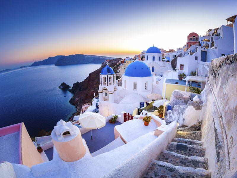 В поисках Атлантиды (Афины + отдых на Санторини)