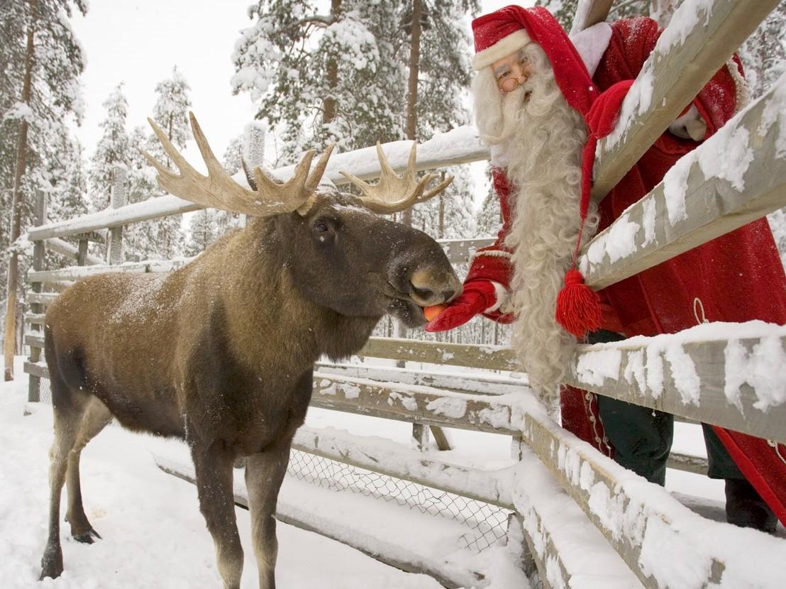 Рига и Лапландия на Новый Год