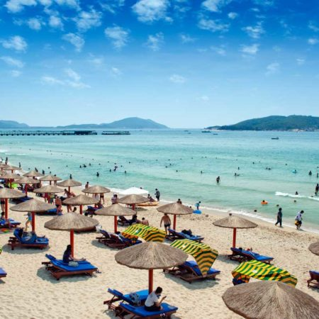 Аккуратный_пляж,_Хайнань
