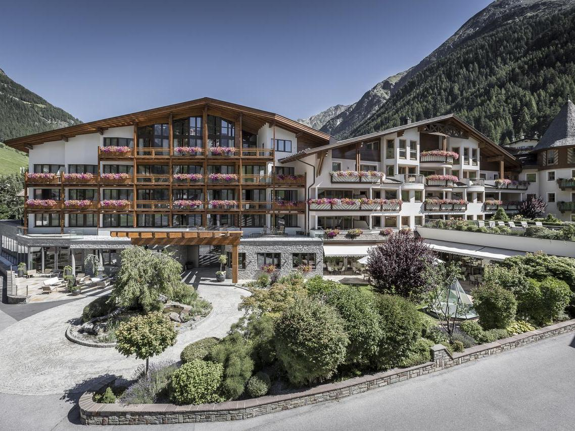 Das Central Hotel Soelden 5*